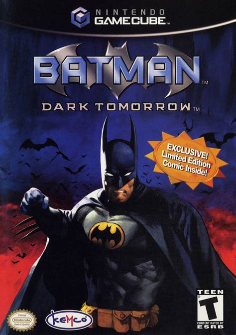 batman dark tomorrow gamecube game