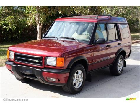 red land rover 2001 alveston red metallic land rover discovery ii se