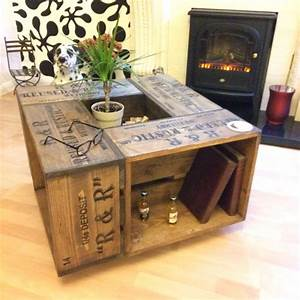 25 best ideas about crate coffee tables on pinterest With crate style coffee table