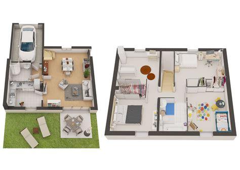 Plan D Une Maison En 3d Plan D Une Maison En 3d Basketballhoopreviews Us