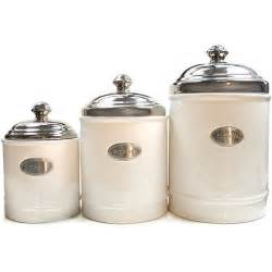 kitchen canisters ceramic fifth avenue white canisters with metal plated