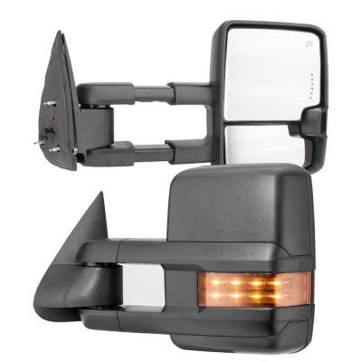 Chevy Silverado 2500HD 2003 2006 Towing Mirrors LED DRL