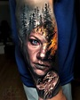 Jaw-Dropping Face Morph Tattoos By Arlo DiCristina ...