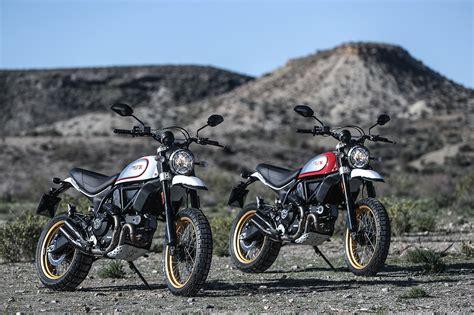 Ducati Scrambler Throttle Backgrounds by Ducati Desert Sled Brake Magazine
