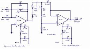 Low Pass Filter For Subwoofer