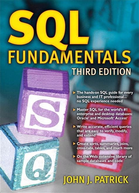 SQL Fundamentals, 3rd Edition   InformIT