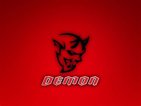 logo dodge challenger dodge challenger demon logo wallpaper by thetinychicken on