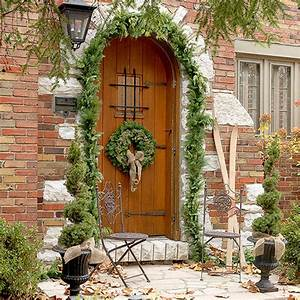 Weihnachtskranz Für Tür : tolle weihnachtsdeko ideen im freien 30 inspirierende vorschl ge ~ Sanjose-hotels-ca.com Haus und Dekorationen