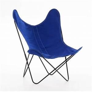 Canapé Bleu Roi : fauteuil aa coton bleu roi airborne ~ Teatrodelosmanantiales.com Idées de Décoration