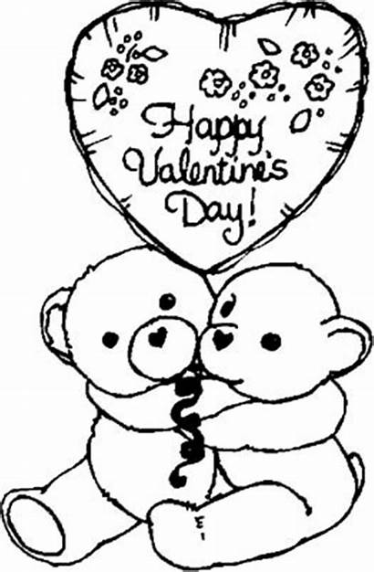 Coloring Printable Happy Valentines Valentine