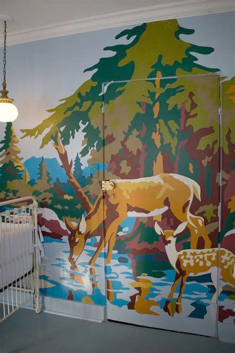 paint by number paintings diy murals crafts a la mode