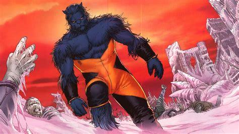 Hank Mccoy Beast Marvel Comics Xmen Hero Wallpaper (50496
