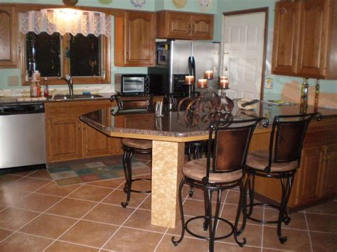 kitchen islands with bar stools how to add things into your kitchen hac0 8303
