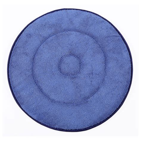 Can You Clean A Microfiber With A Carpet Cleaner by Clean Up Mfbon19bl 19 Quot Carpet Bonnet Pad Microfiber Blue
