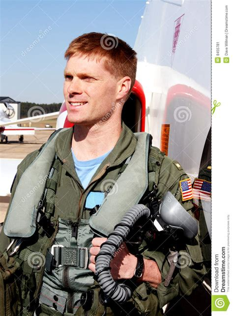 navy fighter pilot stock image image