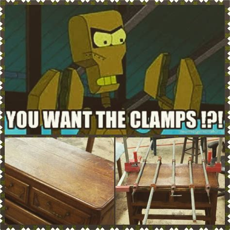 how to repair furniture giveemthecls clscan you tell we been many futurama reruns on