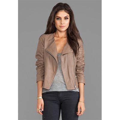 BB Dakota Dolorosa Lamb Leather Jacket in Taupe | Jackets/Coats | Pinterest | Leather jackets ...