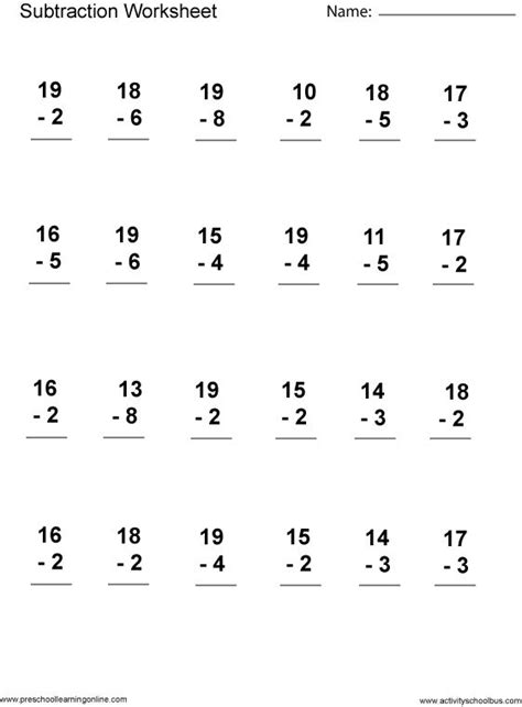 math worksheets for 3 grade to print for free first