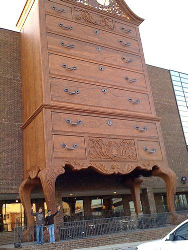 worlds largest chest  drawers high point north