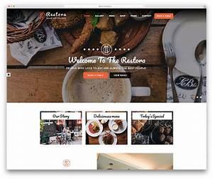 33 Best Food Website Templates That Satisfy All Food Lovers 2019