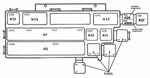 Bmw 730  735i  735il  750il  E32  1991  U2013 Fuse Box Diagram