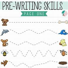Essential Prewriting Skills I Can Trace Lines  Liz's Early Learning Spot