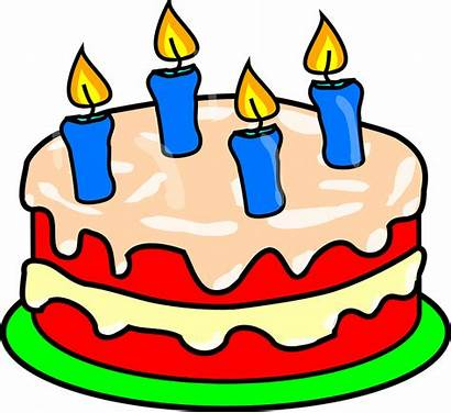Cake Candles Icing Pixabay Pink Birthday Four
