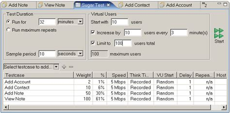 How To Load Test Sugarcrm