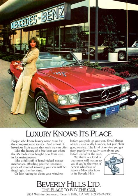 Modelyear Madness! 10 Luxurycar Ads From 1979 The