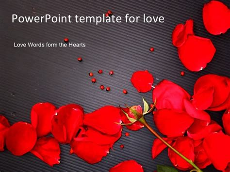 Powerpoint Template Love