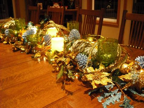 italian christmas table decorations diy table centerpieces re use items you have around the