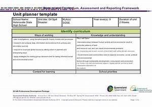 oil spill unit plan With lesson plan template qld