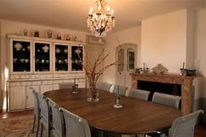 Deco salle a manger avec meubles anciens for Deco cuisine avec buffet salle À manger chene