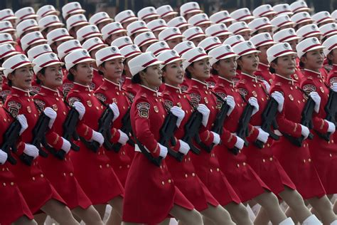 chinas  year parade shows global ambition  hk protests  seattle times