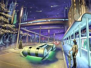 Future Street by mping123 on deviantART