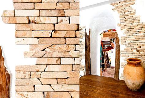 Wandgestaltung Mit Naturstein mediterrane innenarchitektur gartengestaltung mit