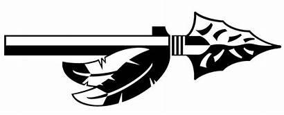 Spear Indian Clipart Arrow Native American Arrowhead