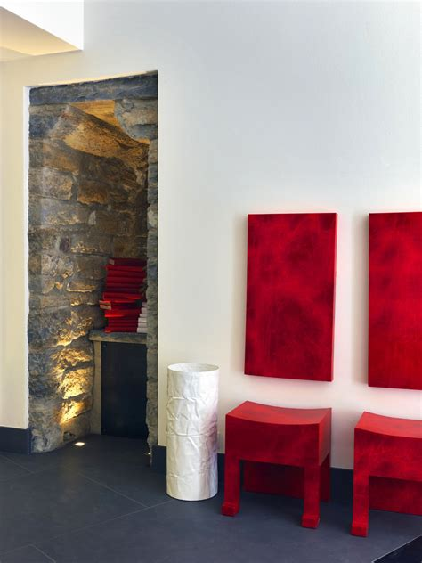 gombithotel contemporary design  medieval city