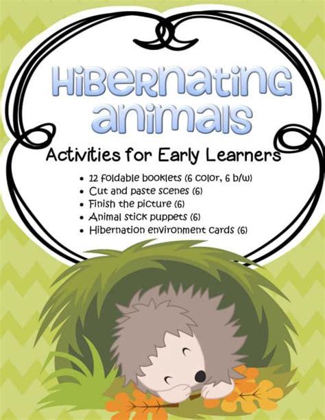 hibernation theme activities and printables for preschool 413   hibernation 18 orig