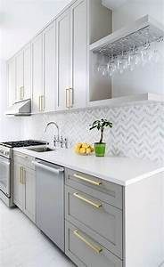 25, Timeless, Grey, And, White, Kitchen, Designs