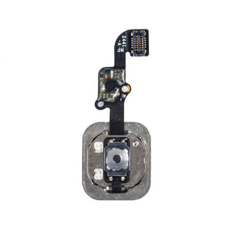 home button flex cable  fingerprint scanner  iphone   black fingerprint scanner