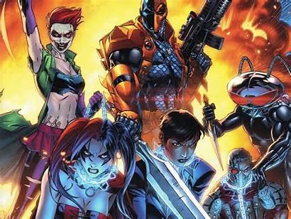 Suicide Squad Deadshot Dc Comics Wallpapers Quinn