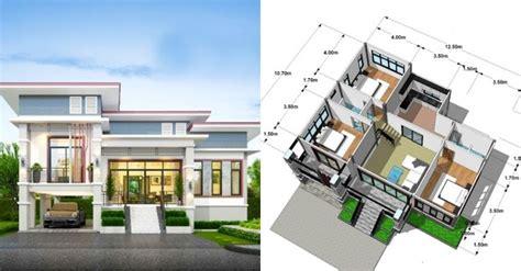 desain rumah minimalis kamar komplet ukurannya