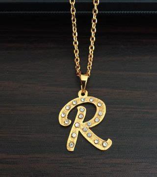 kalung emas inisial modelemasterbaru