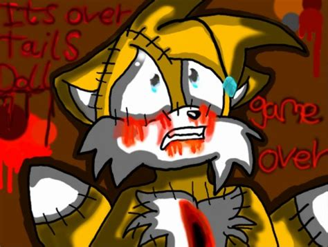 Game Over Tails Doll... By Flashyphoenix2004