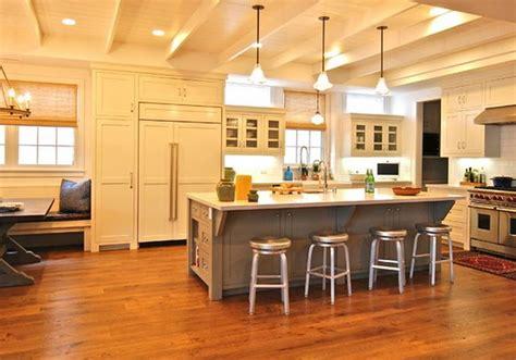 idee peinture cuisine meuble blanc idee peinture cuisine meuble blanc 18 ilot central cuisine avec table int233gr233e deco
