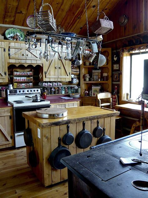 rustic country kitchen 35 country kitchen design ideas home design and interior