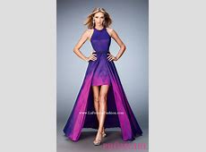 Ombre Dresses Prom Low High 2