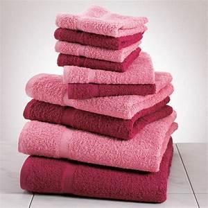 Pink towels! Dream Home Pinterest Pink towels