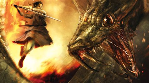 Dragon Warrior Wallpaper
